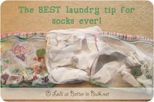 socks sorting tip