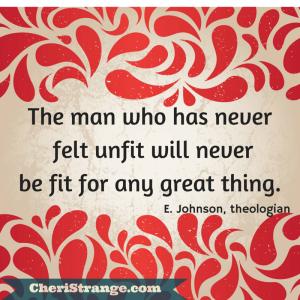 Never felt unfit