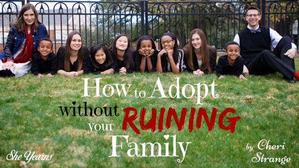 How to Adopt Without Ruining Your Family