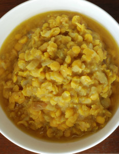 Kik Alicha yellow pea dish FavoritePinFriday
