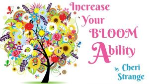 after reading Increase your Bloom Ability read can God restore me
