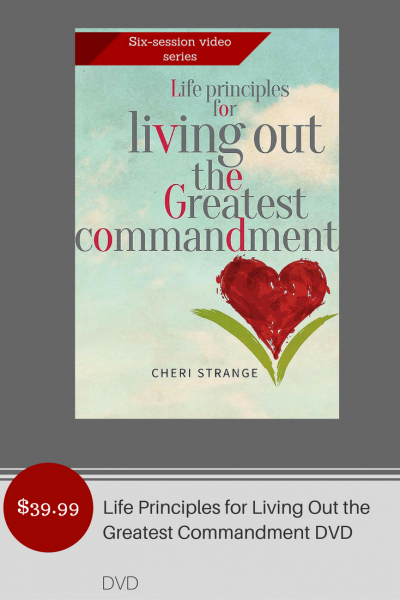 DVD Life Principles for Living Greatest Commandment