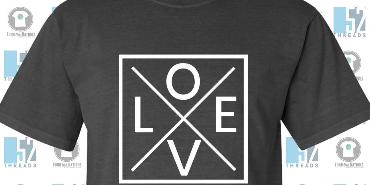 Love Boldly T-Shirt XXL 3XL