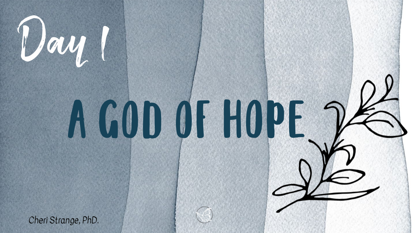 God of Hope
