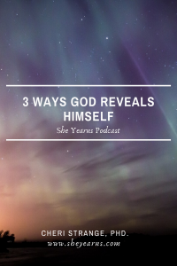 3 ways God reveals Himself