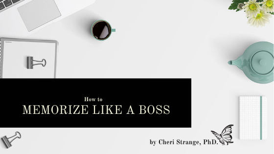 memorize like a boss