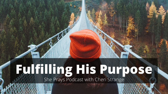 fulfilling his purpose