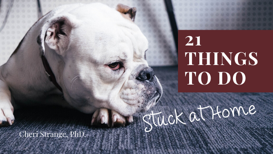 21 things to do stuck at home