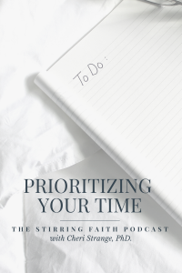 prioritizing Your Time