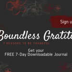 boundless gratitude feature