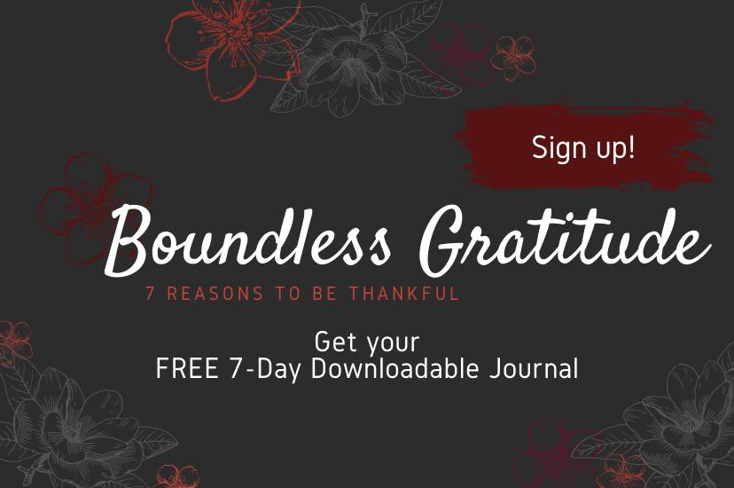 boundless gratitude feature