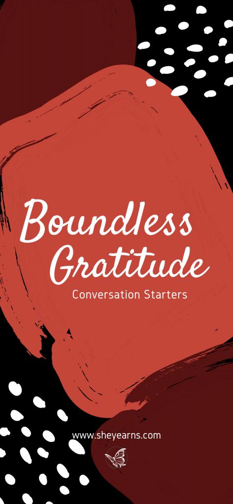 boundless gratitude phone