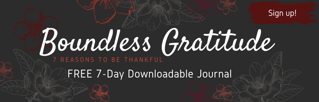 boundless gratitude